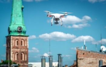 dron-miasto